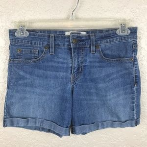 Levi Signature denim short with roll cuff